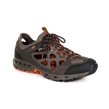 b3ec1cb487a4b6 Men s Samaris Crosstrek Sandals Peat Gold Flame