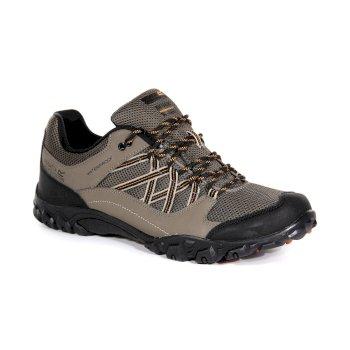 Brązowe buty turystyczne męskie Edgepoint III