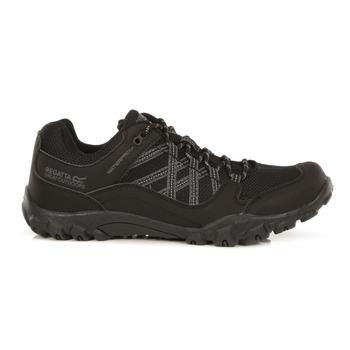 Men's Edgepoint III Waterproof Walking Shoes Black Granite