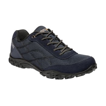 Men's Stonegate II Walking Shoes Navy Rock Grey