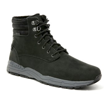 Men's Grafton Thermo Insulated Leather Boots Black Granite