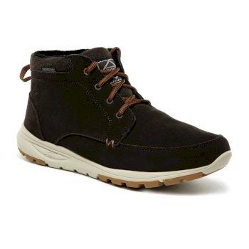 Men's Marine Suede Boots Peat Tan