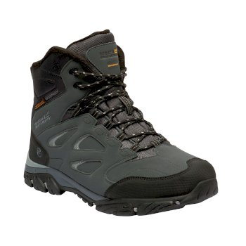 Men's Holcombe IEP Thermo Insulated Walking Boots Briar Grey Black