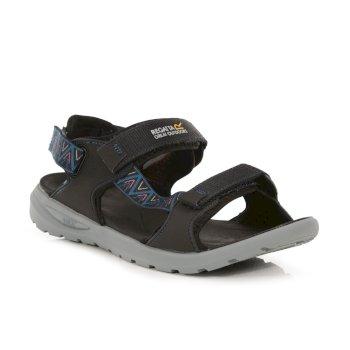 Men's Marine Web Walking Sandals Ash Titan Blue