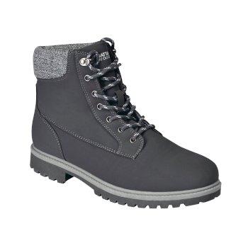 Męskie buty zimowe Bayley szare
