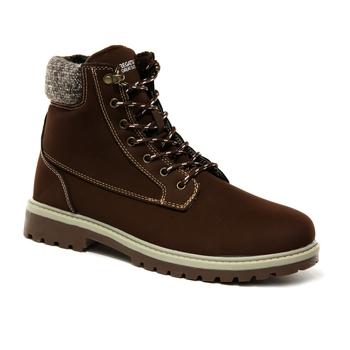 Męskie buty zimowe Bayley brązowe