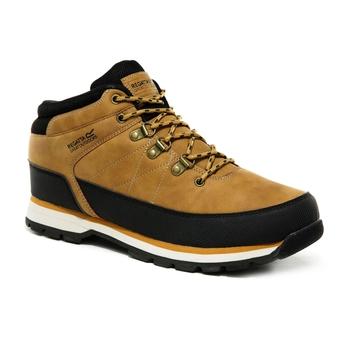 Men's Aspen Lightweight Casual Boots Tan Black