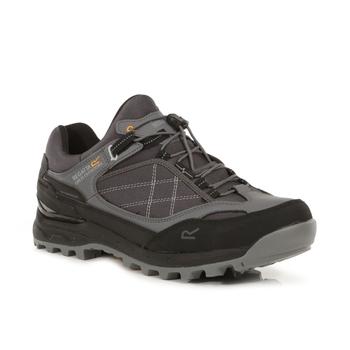 Men's Samaris Pro Waterproof Low Walking Shoes Granite