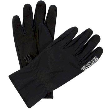 Men's Stretch Softshell Gloves Black
