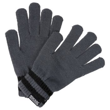 Men's Davion II Knitted Gloves Asteroid Black