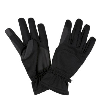 Men's Softshell Touchtip Gloves Black