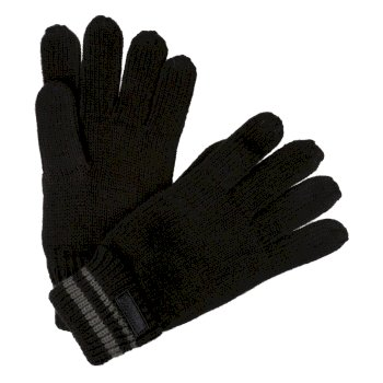 Men's Balton II Knitted Gloves Black Asteroid