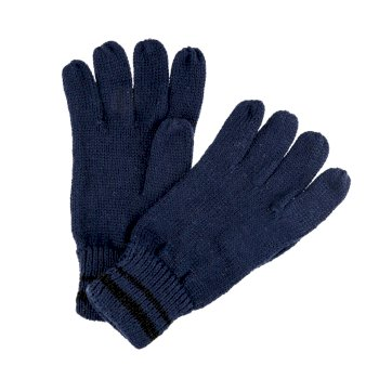 Men's Balton II Knitted Gloves Navy Black