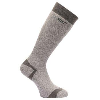 Men's Welly Socks Seal Grey