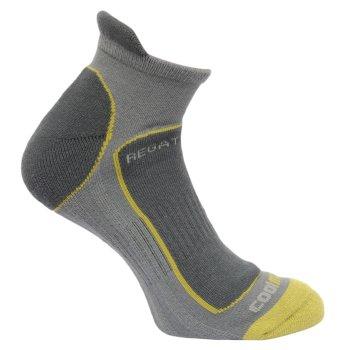 Men's Trail Runner Trainer Socks Granite Oasis Green