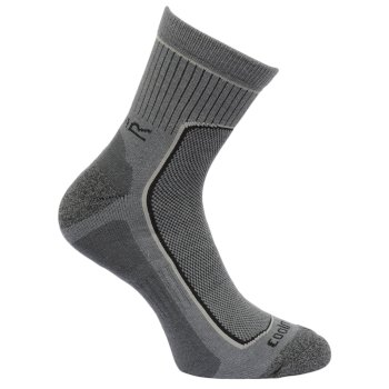 Men's 2 Pack Active Socks Dark Denim Granite