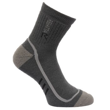 Men's 3 Season Heavyweight Trek & Trail Socks Iron