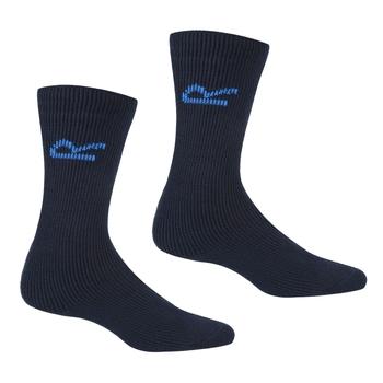 Men's 5 Pack Basic Thermal Loop Socks Navy