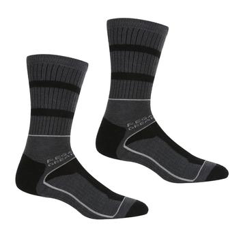Men's Samaris 3 Season Socks Black Dark Steel