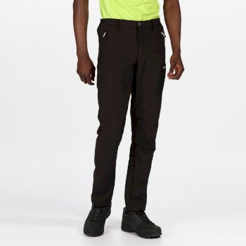 Men's Geo II Softshell Trousers Black