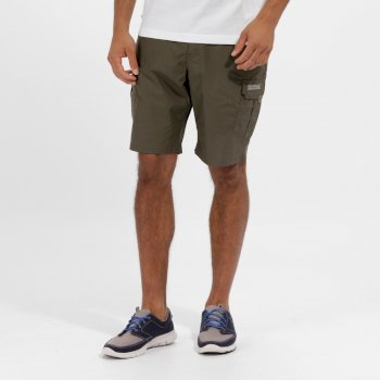 Men's Delph Cargo Shorts Ivy Green