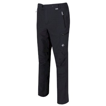 Men's Highton Multi Pocket Walking Trousers Seal Grey