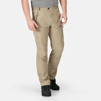 Men's Highton Multi Pocket Walking Trousers Parchment