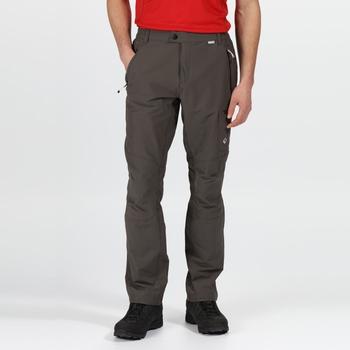 Męskie spodnie Highton szare