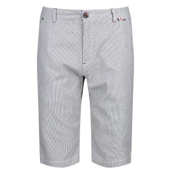 Men's Salvador II Shorts Blue Ticking Stripe
