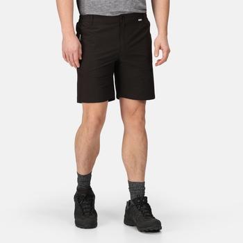 Men's Highton Mid Length Walking Shorts Black