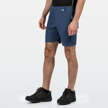 Men's Highton Mid Length Walking Shorts Dark Denim