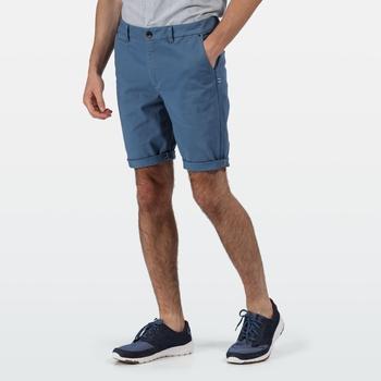 Men's Salvator Casual Chino Shorts Stellar Blue