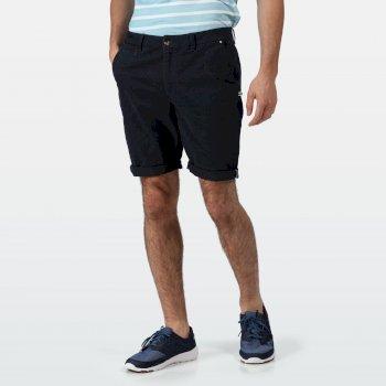 Men's Salvator Casual Chino Shorts Navy