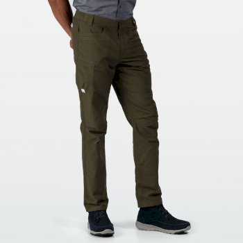 Men's Delgado Lightweight Trousers Camo Green