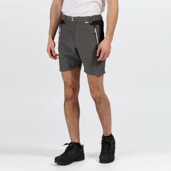 Men's Sungari II Walking Shorts Magnet Grey Black