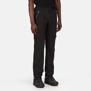 Męskie spodnie z odpinanymi nogawkami Xert Z/O III czarne