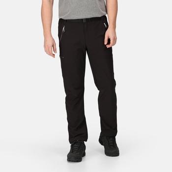 Męskie spodnie Xert Str Trs III czarne