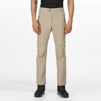 Men's Highton Zip Off Walking Pants Parchment