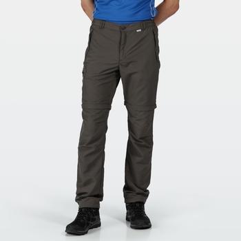 Men's Leesville II Zip Off Walking Trousers Hawthorn