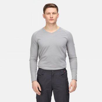 Męskie spodnie Delgado szare