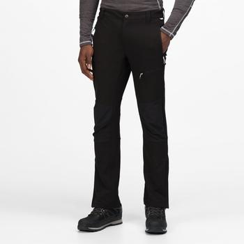 Męskie spodnie Questra III czarne