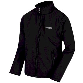 Men's Cera III Funnel Neck Softshell Jacket Black
