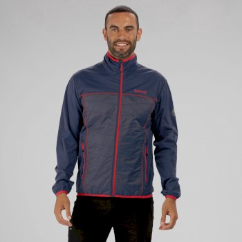Walson Hybrid Lightweight Softshell Jacket Dark Denim Seal Grey