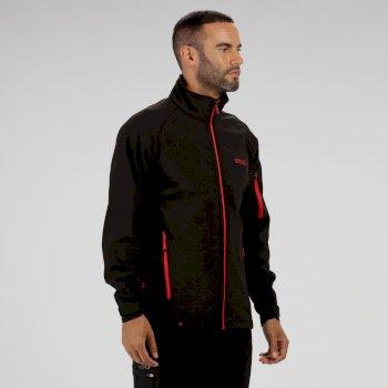 Nielson IV Lightweight Softshell Jacket Black Seal Grey