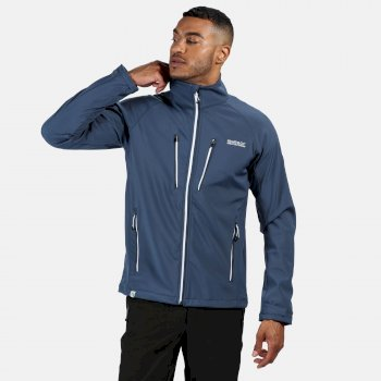Men's Nielson V Lightweight Softshell Walking Jacket Dark Denim