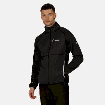 Men's Foley II Hybrid Softshell Walking Jacket Ash Black
