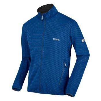 Men's Highton Lite Full Zip Softshell Walking Jacket Nautical Blue