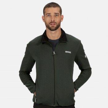 Men's Highton Lite Full Zip Softshell Walking Jacket Deep Forest