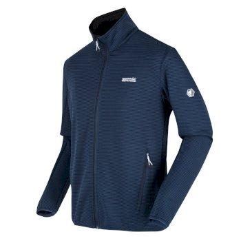 Men's Highton Lite Full Zip Softshell Walking Jacket Dark Denim