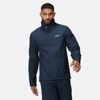 Men's Cera V Softshell Walking Jacket Navy Marl